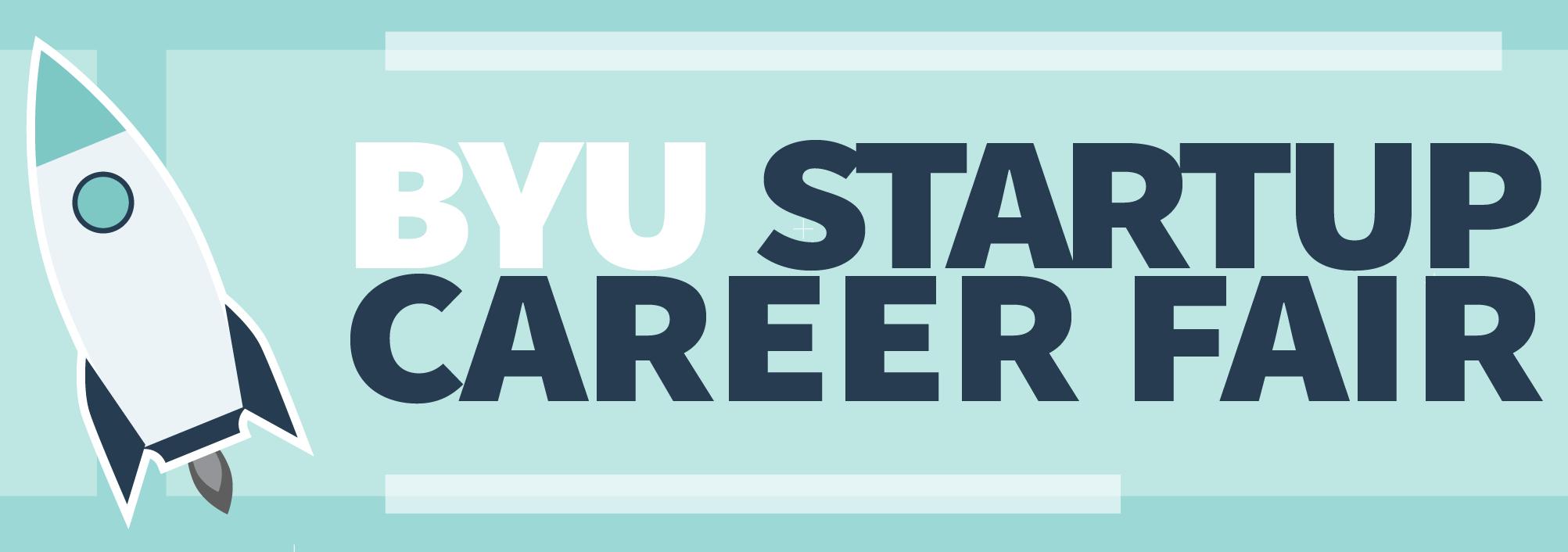 byu startup career fair logo