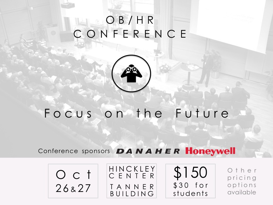2017 Annual Marriott School OB/HR Conference