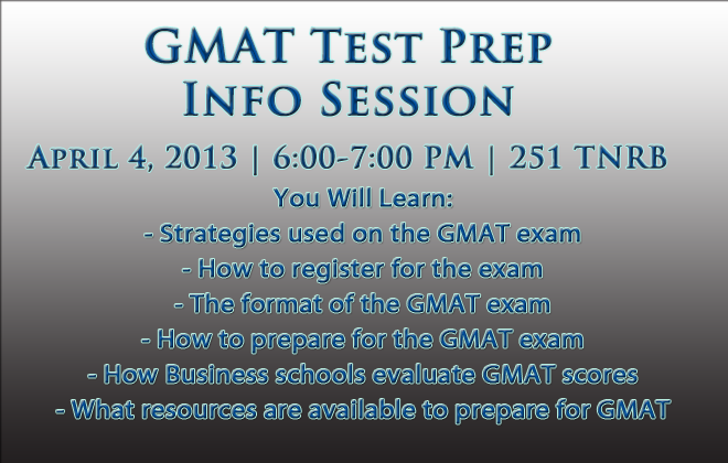 gmat prep test essay Gmat preparation is an online exam prep class at ed2gocom, that you can take at your own pace.
