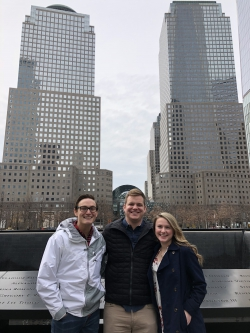 BYU team at Ground Zero