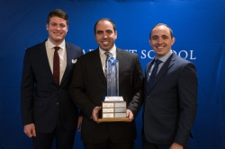 The winners of the interdisciplinary case competition