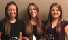Three female students take third place at CoMIS Competition.