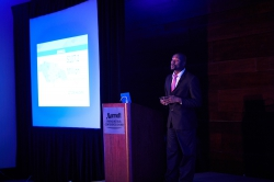 Lancelot Riley of BEASC Technologies presents at the IBMC