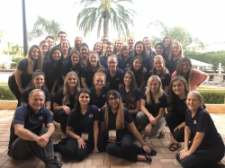 BYU Students together in Orlando