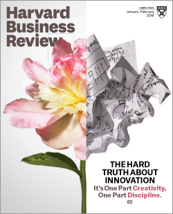 Jeff Dyer just had his article, When Your Moon Shots Don't Take Off, published in the Jan–Feb 2019 issue of the Harvard Business Review.