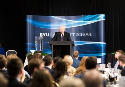 Merrill J. Bateman, former president of BYU and former dean of BYU Marriott.