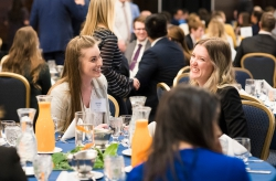 More than five hundred students, faculty, and alumni gathered at the Provo Marriott Hotel for the annual presentation of the Bateman Awards.