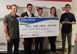 Thrive Smart Systems wins $40,000 in 2019 Utah Entrepreneurship Challenge.