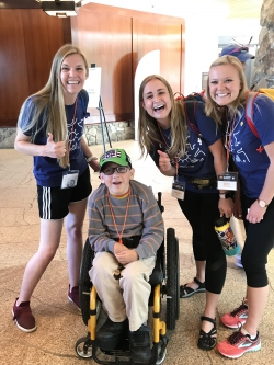 TRM students with first-time No Barriers attendee