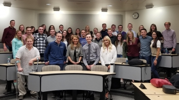 BYU SHRM Students