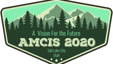 "The theme for AMCIS 2020 was ""A Vision for the Future."" Photo courtesy of Bonnie Anderson."