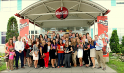 BYU marketing students learn how global companies approach marketing by visiting companies like The Coca-Cola Company. Photo courtesy of Bruce Money.