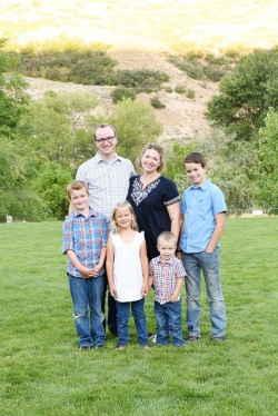 Marc Dotson and his wife live in Provo with their four children. Photo courtesy of Marc Dotson.
