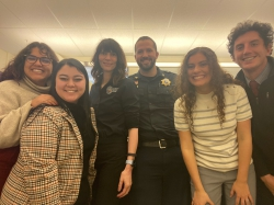 BYU Marriott HRM students with HR representatives from the department of corrections