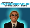 Student entrepreneur of the year 2005 poster