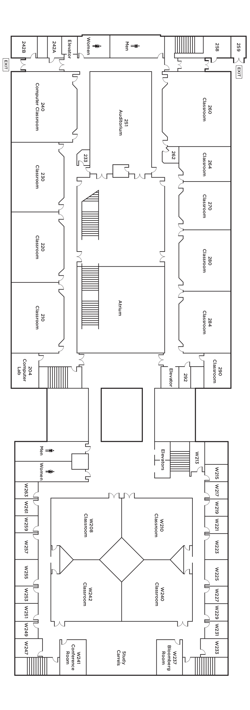 tanner building map